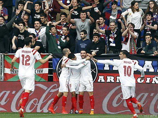 Titelverteidiger Sevilla spielt erneut eine starke Saison