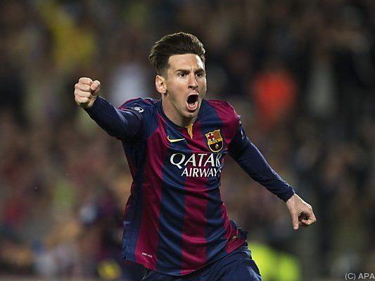 Lionel Messi machte wieder einmal den Unterschied