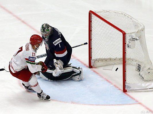 Weißrussen überraschten gegen die USA