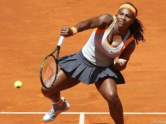 Serena Williams fertigte Suarez Navarro ab