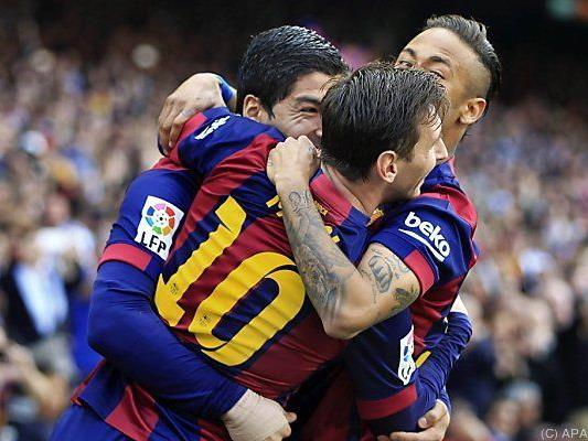 Barcelonas Traumsturm scheint derzeit nicht zu stoppen