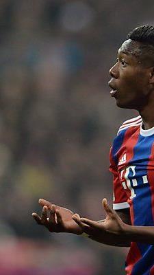 David Alaba hofft auf baldige Einsätze