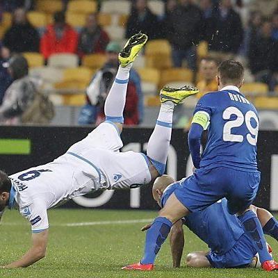 Die Ukrainer brachten Napoli zum Stolpern