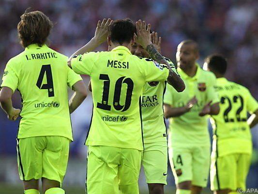 Sieg gegen Atletico und der Titel ist fix