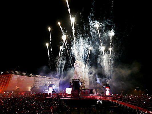 In Lissabon wurde der Meistertitel ausgiebig gefeiert