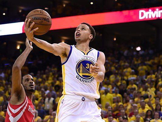 Stephen Curry war erneut Mann des Spiels