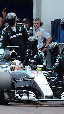 Hamiltons Boxenstopp kostete den Briten den Sieg in Monte Carlo