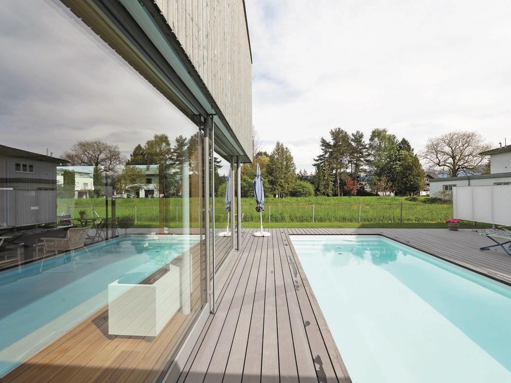 Haus mit Pool statt Garten - Hard | VOL.AT