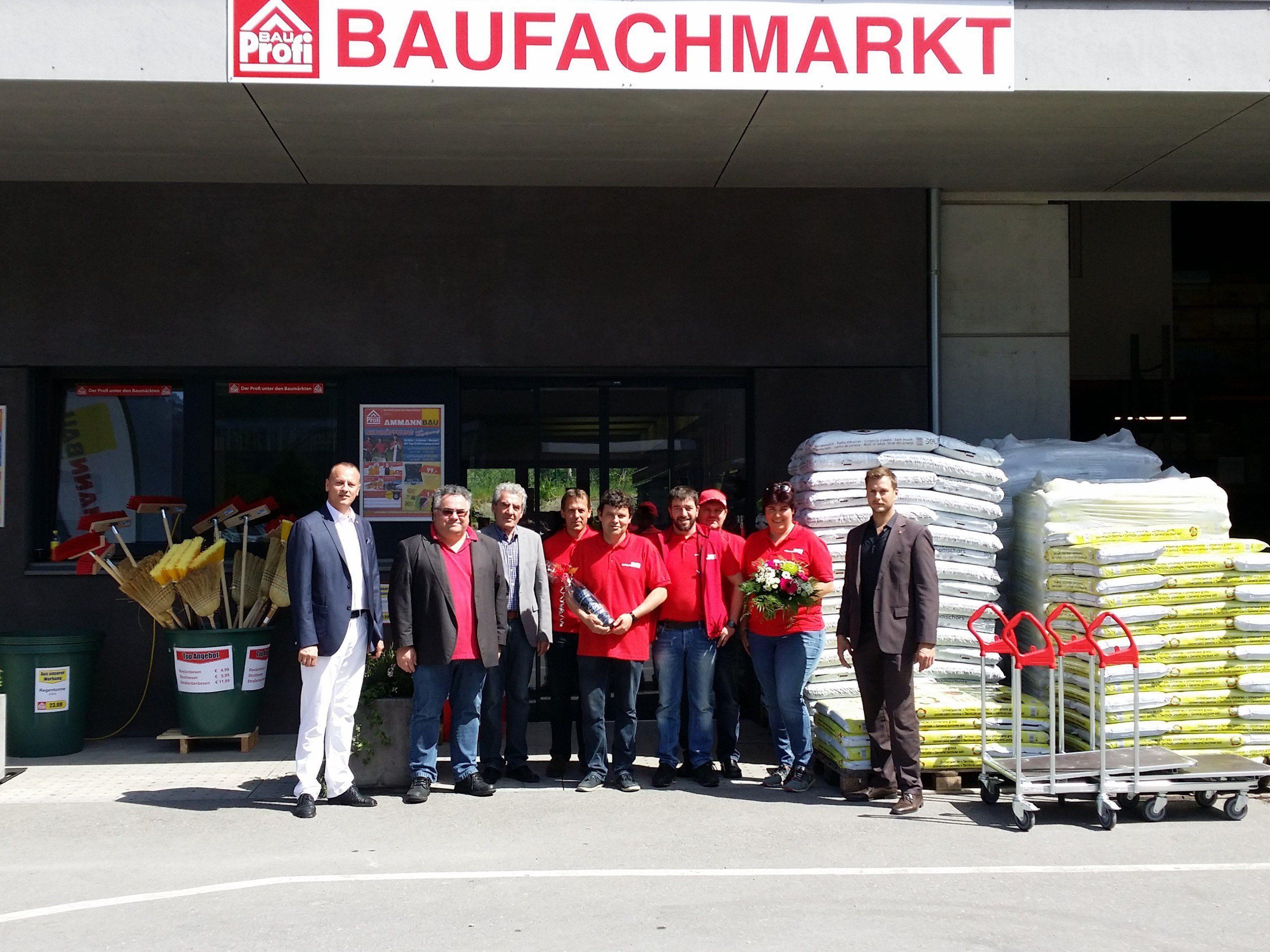 Eröffnung des Baufachmarktes