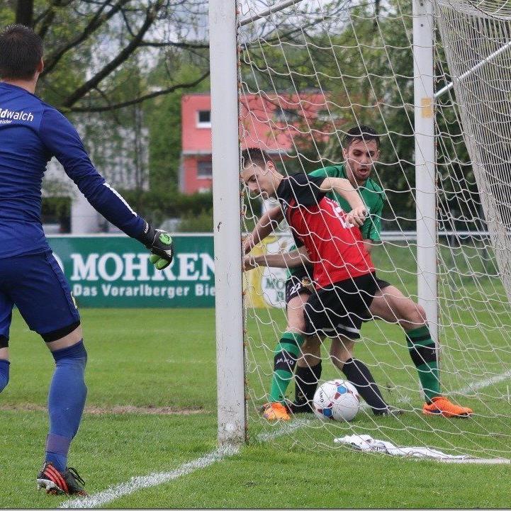 Dornbirner SV gewinnt gegen Schlins mit 4:0.