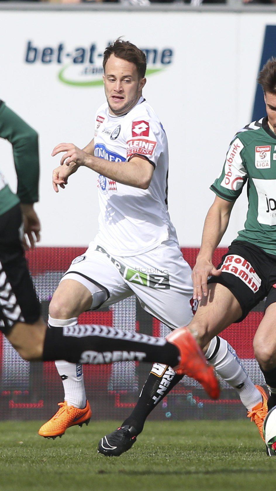 LIVE-Ticker zum Spiel SK Sturm Graz gegen SV Ried ab 16.30 Uhr.