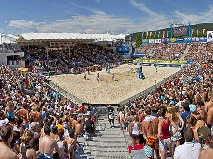 Auftakt Pressekonferenz zur 2015 CEV A1 Beach Volleyball Europameisterschaft
