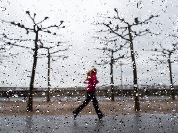 März und April sehr mild - Im Westen nass