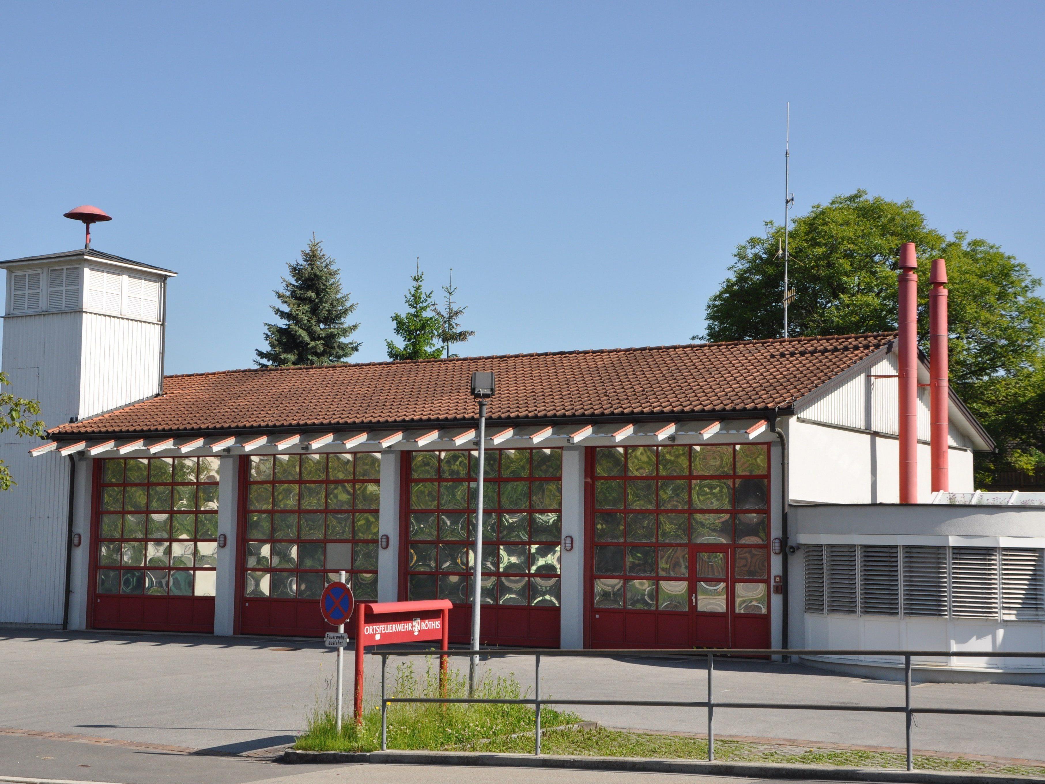 Auf dem Dach des Feuerwehrhauses soll das Röthner Sonnenkraftwerk entstehen.