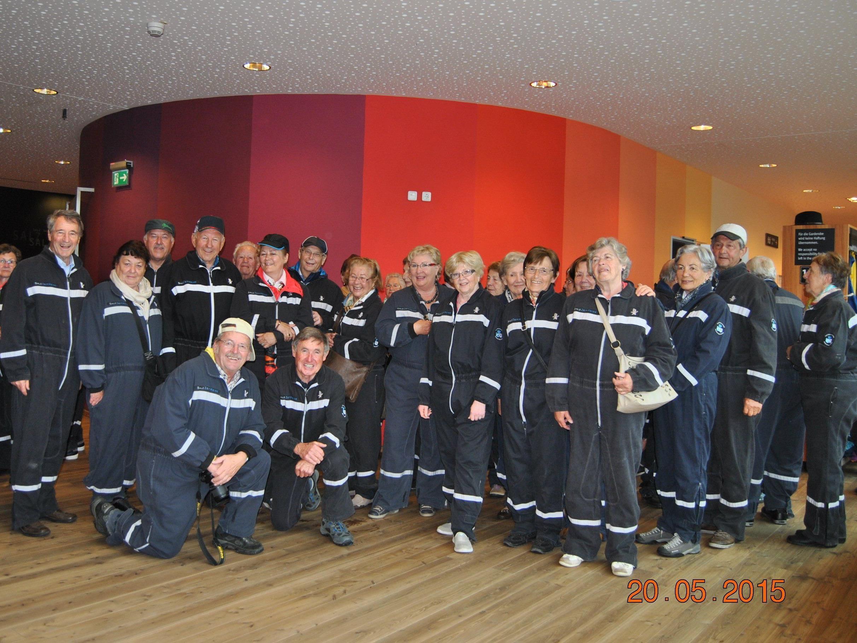 Es war ein besonderes Erlebnis im Salzbergwerk Berchdesgaden