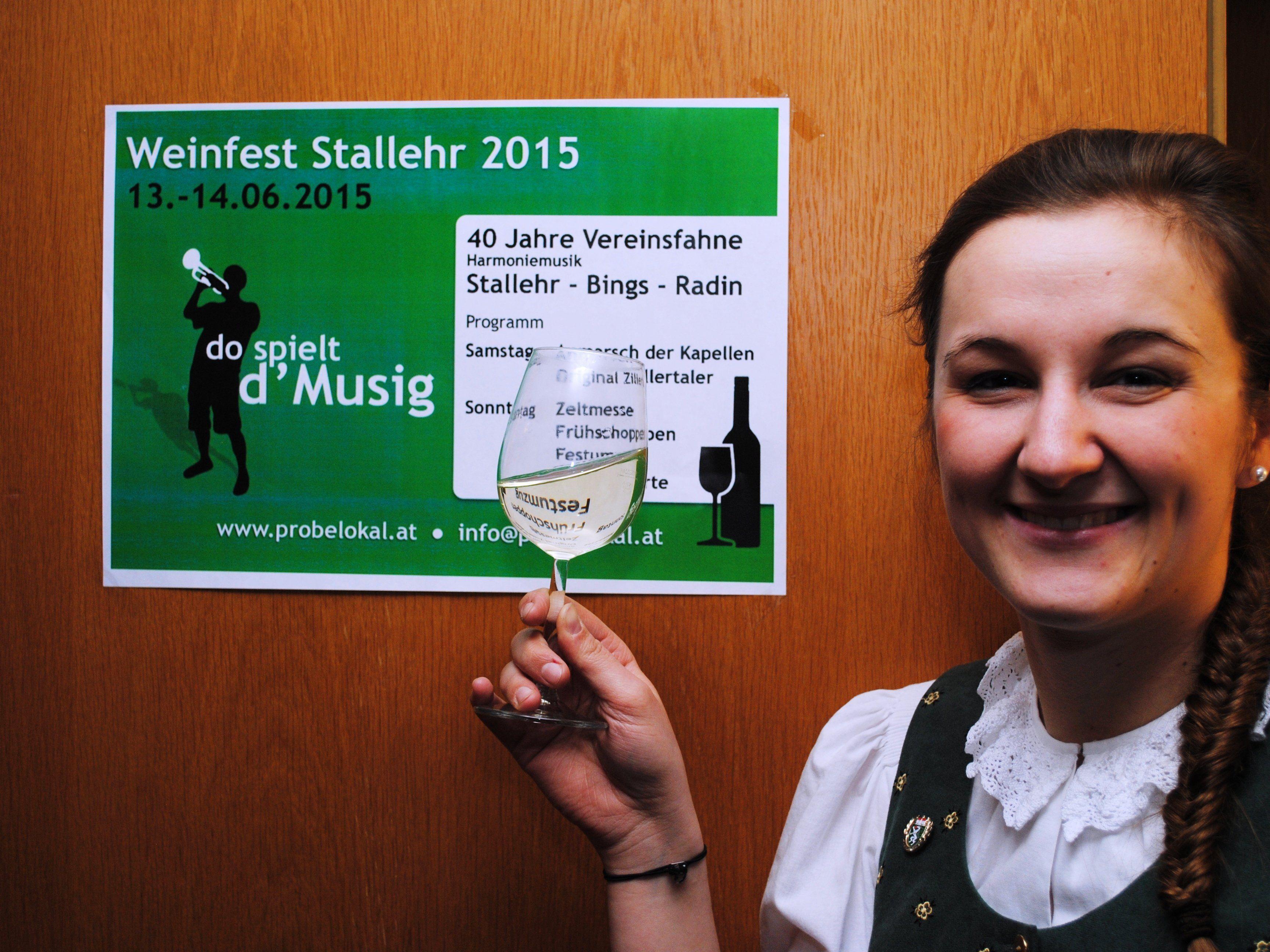 """Sogar die """"Original Zillertaler"""" konnten für das Weinfest gewonnen werden!"""