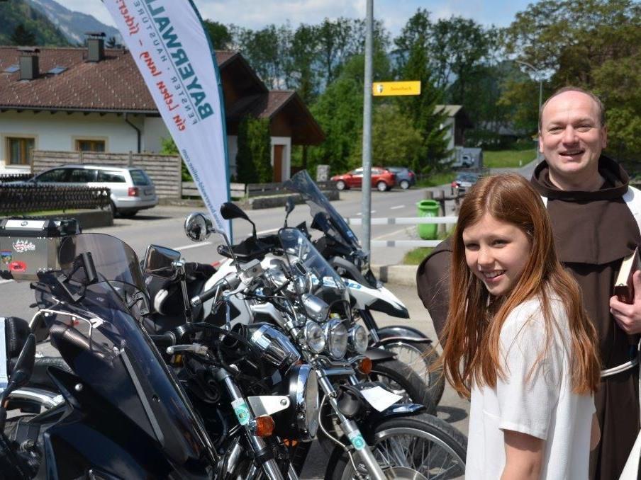 Haus- und Motorradweihe