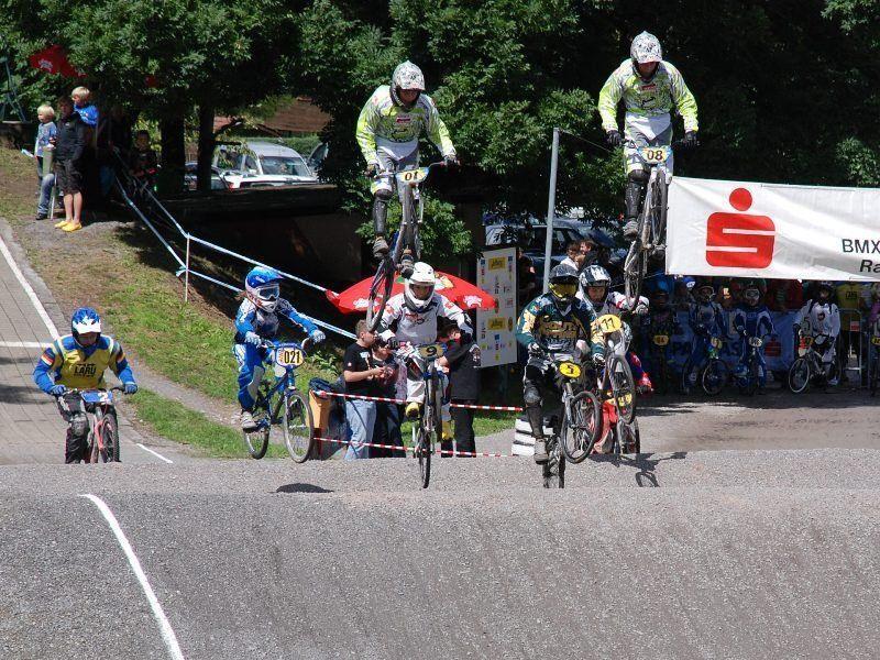 Die BMXler kämpfen um die Landesmeistertitel