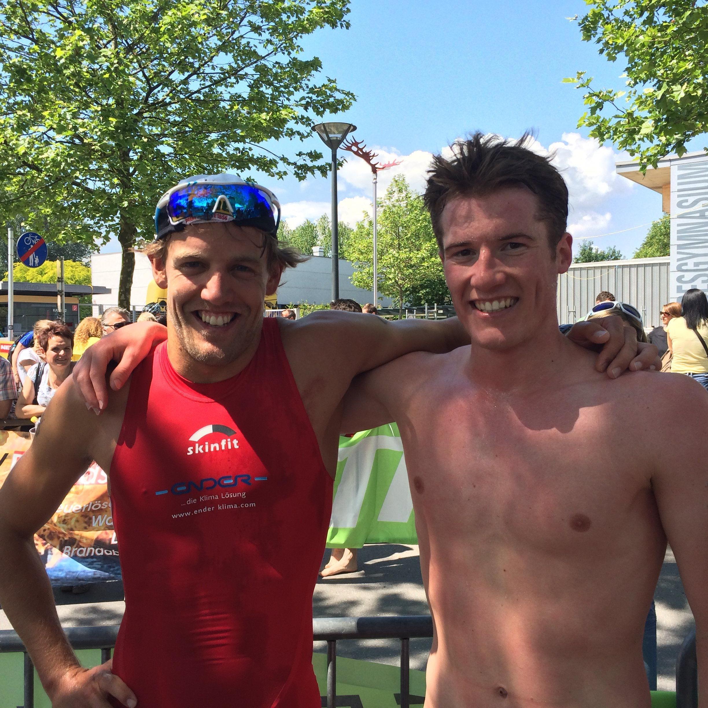 Dominik Berger und Martin Bader werden um den Sieg kämpfen