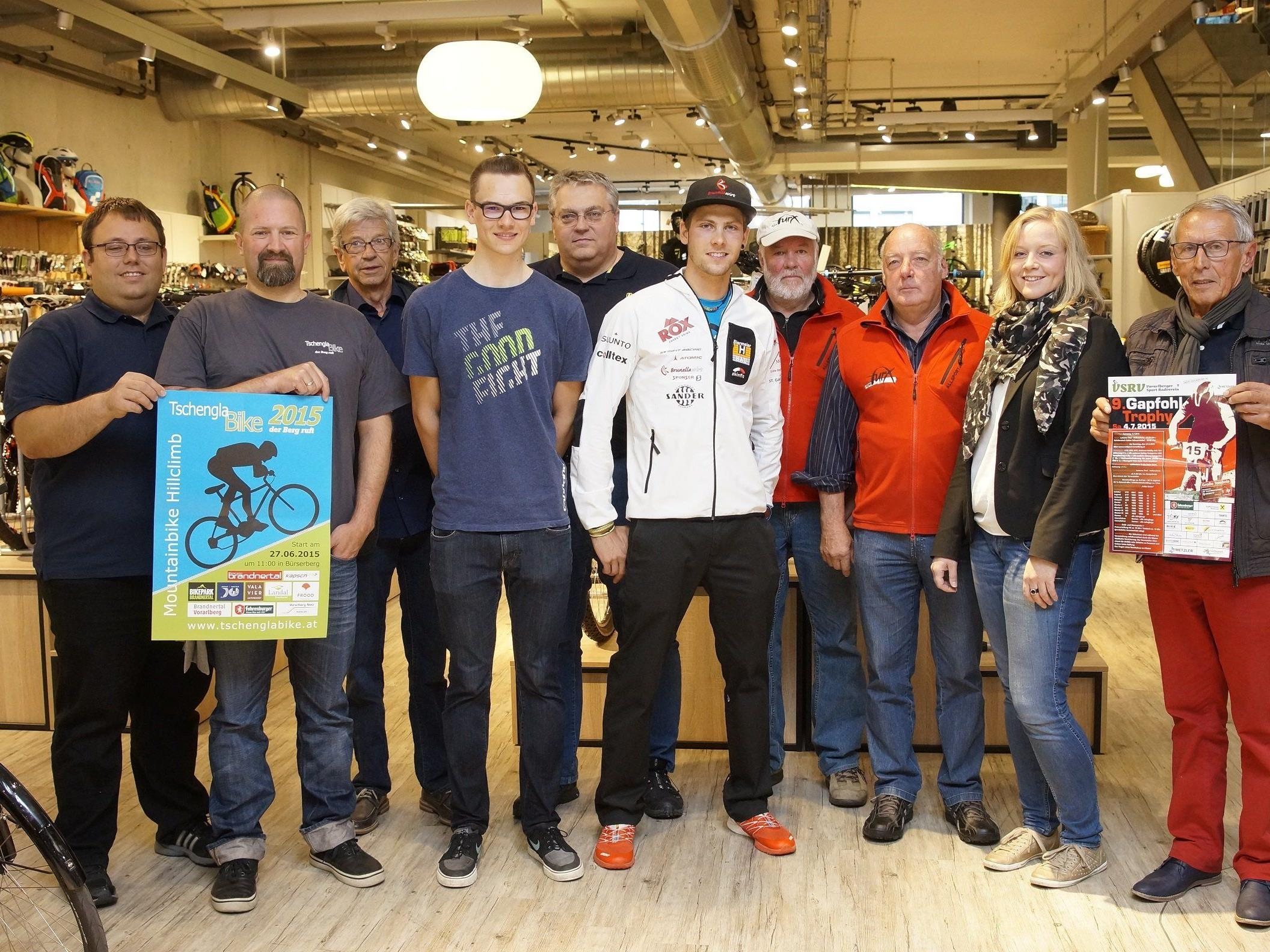 Mountainbike-Cup wurde in Dornbirn vorgestellt