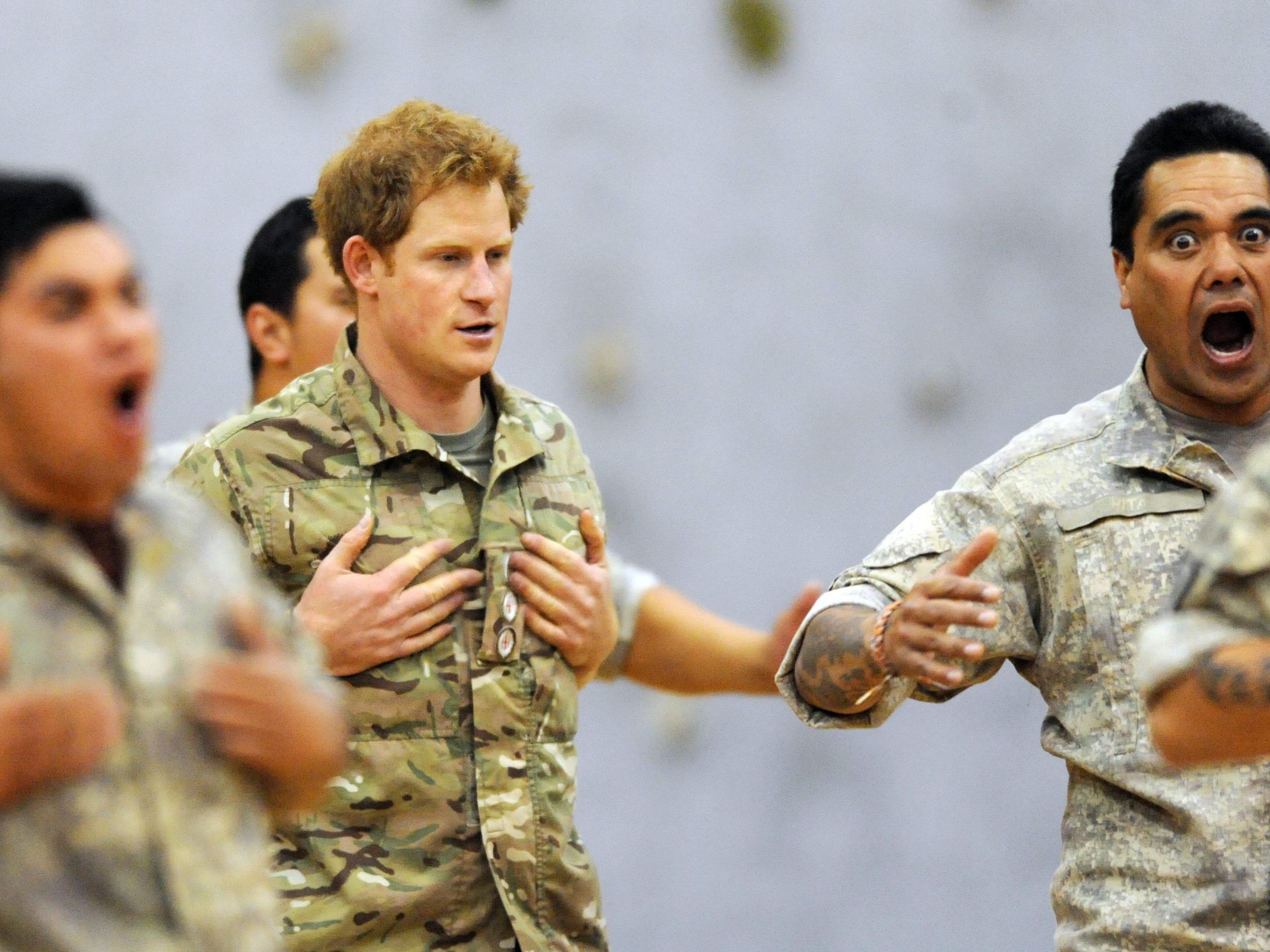 Prinz Harry zeigte in Neuseeland seine Tanzkünste.