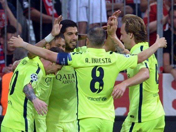 Barcelona konnte trotz der heutigen Niederlage jubeln.