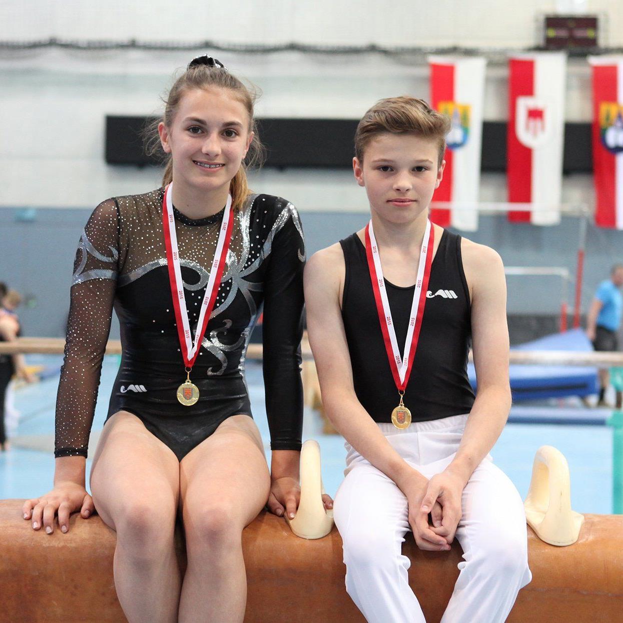 Jugendmeisterin Fabienne Kostelac war eine Klasse für sich