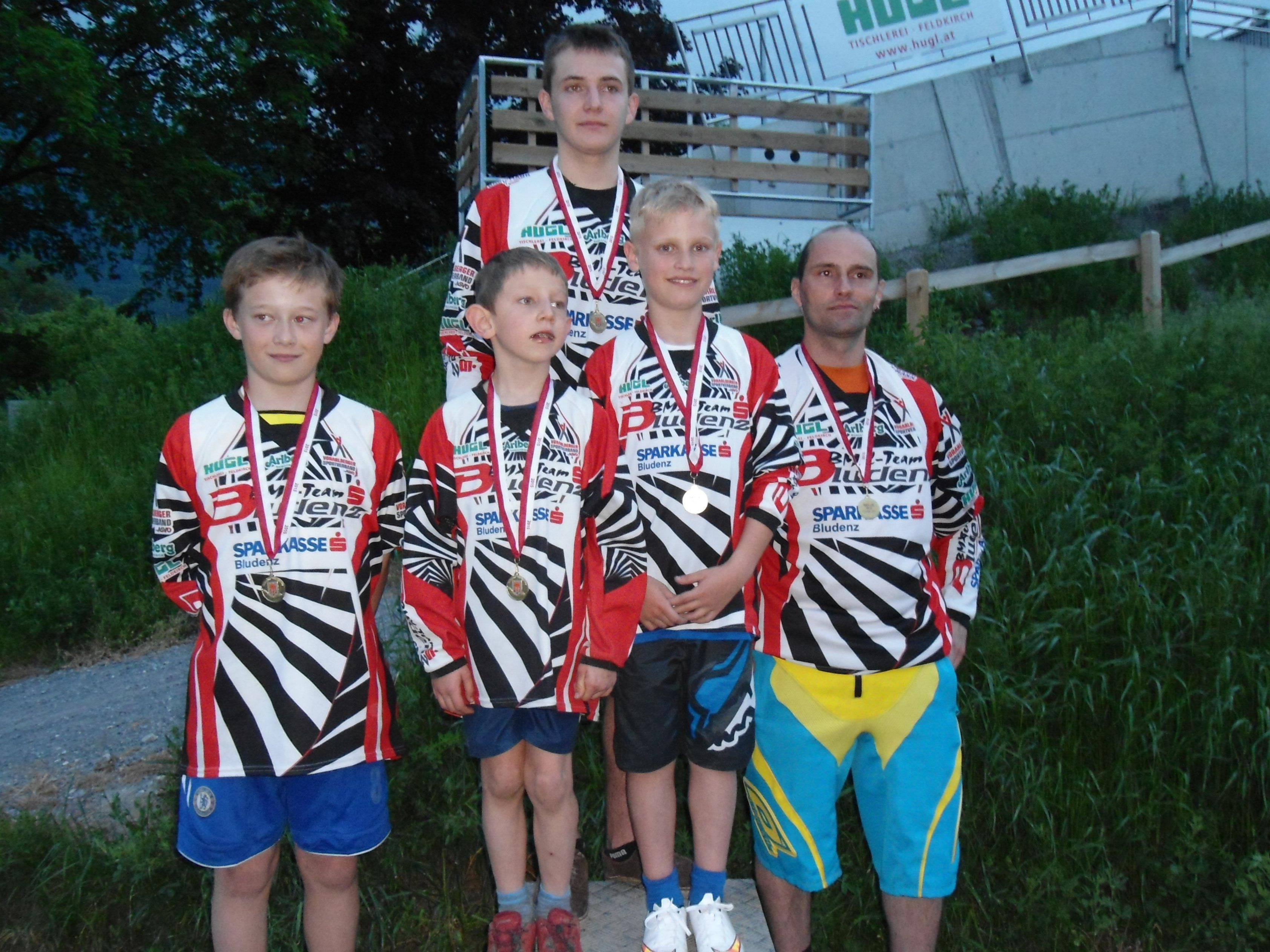 BMX-Landesmeister 2015