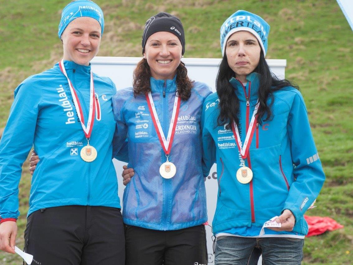 Sabine Reiner stellte einen neuen Rekord auf und gewann den Älpelelauf.