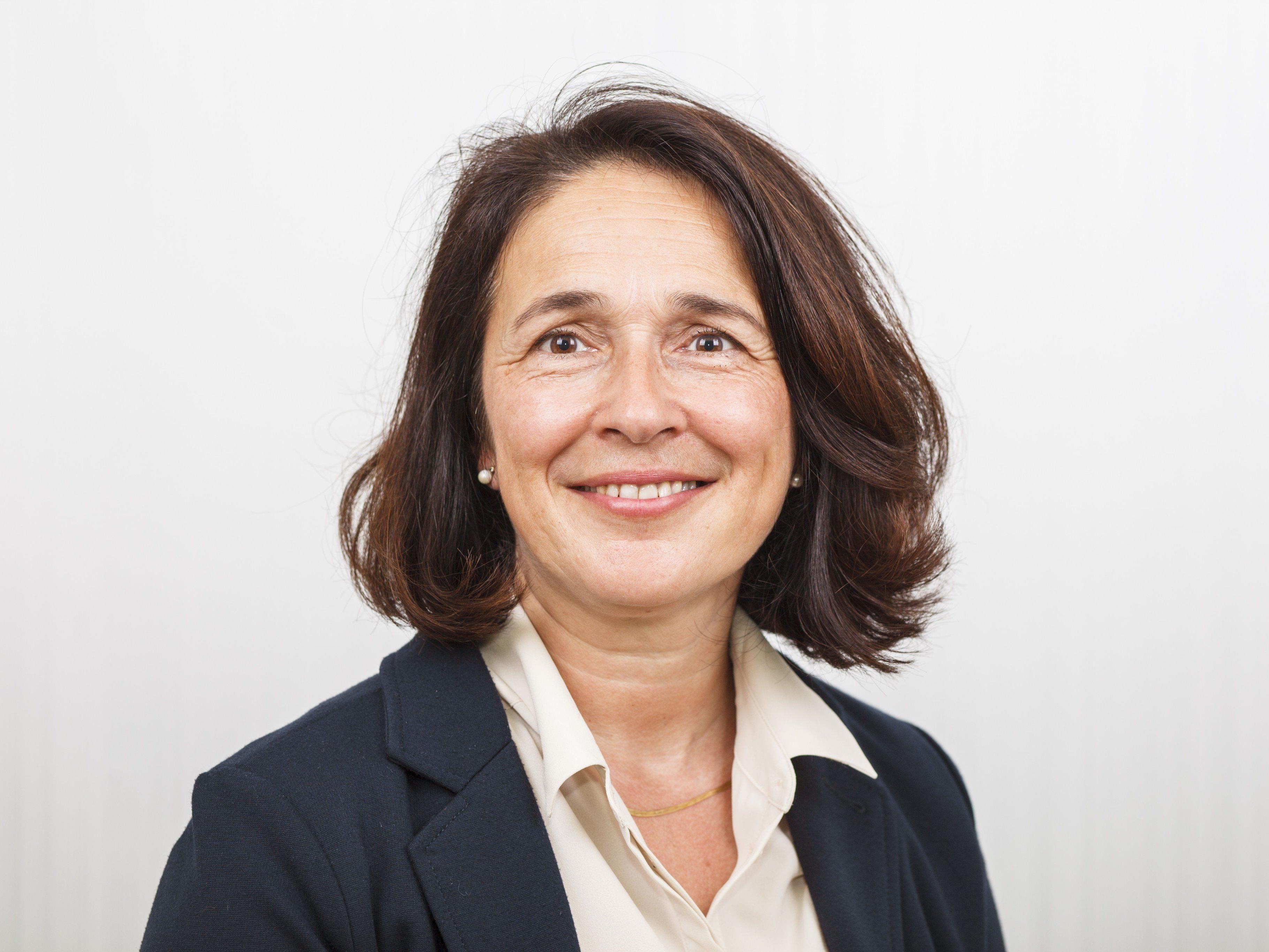 Mag. Michaela Germann, Obfrau der ÖPU (Österr. Professorenunion) Vorarlbergs