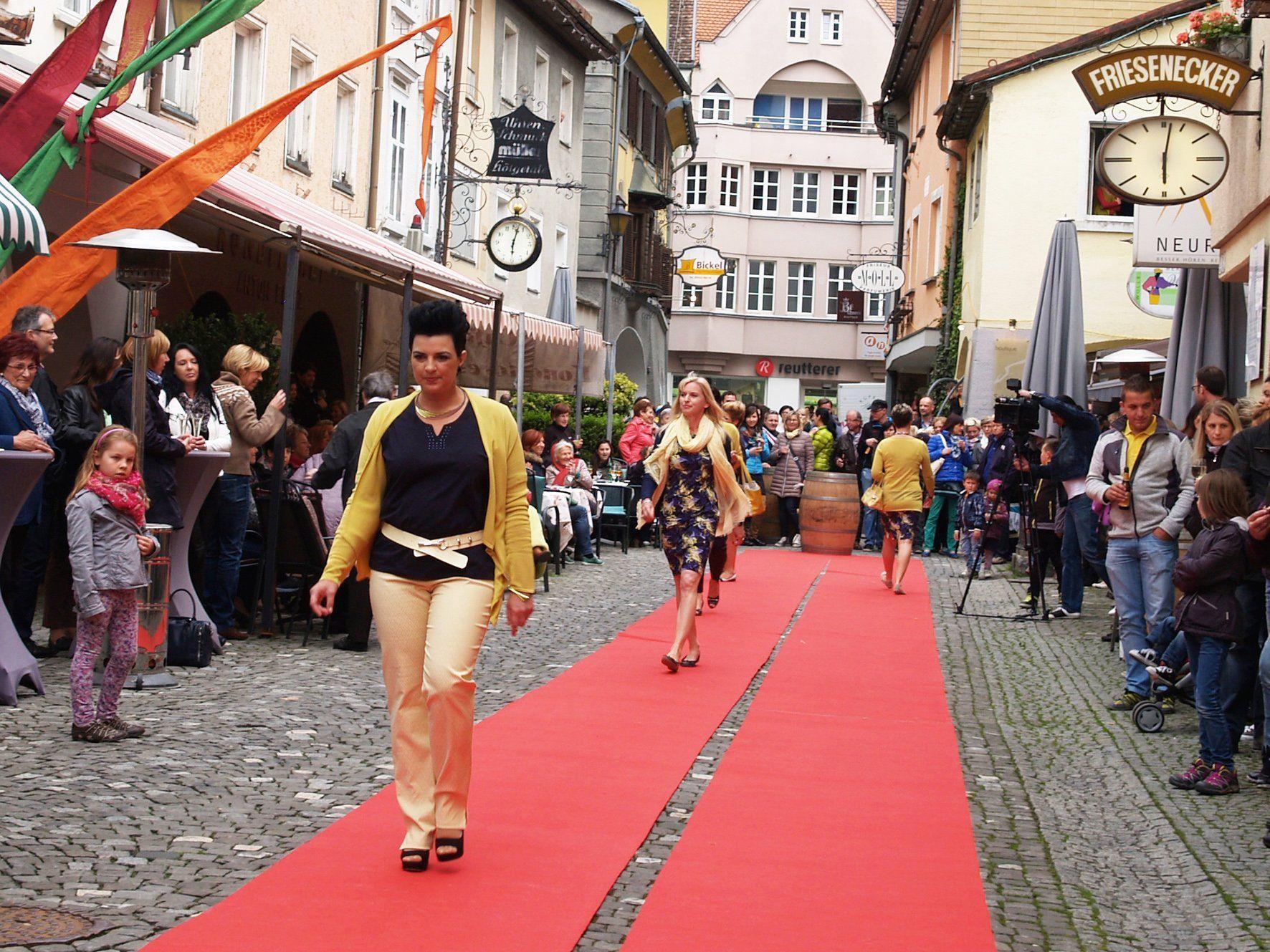 Die Mühlgasse präsentiert sich am Freitag, 29. Mai, im neuen Kleid.