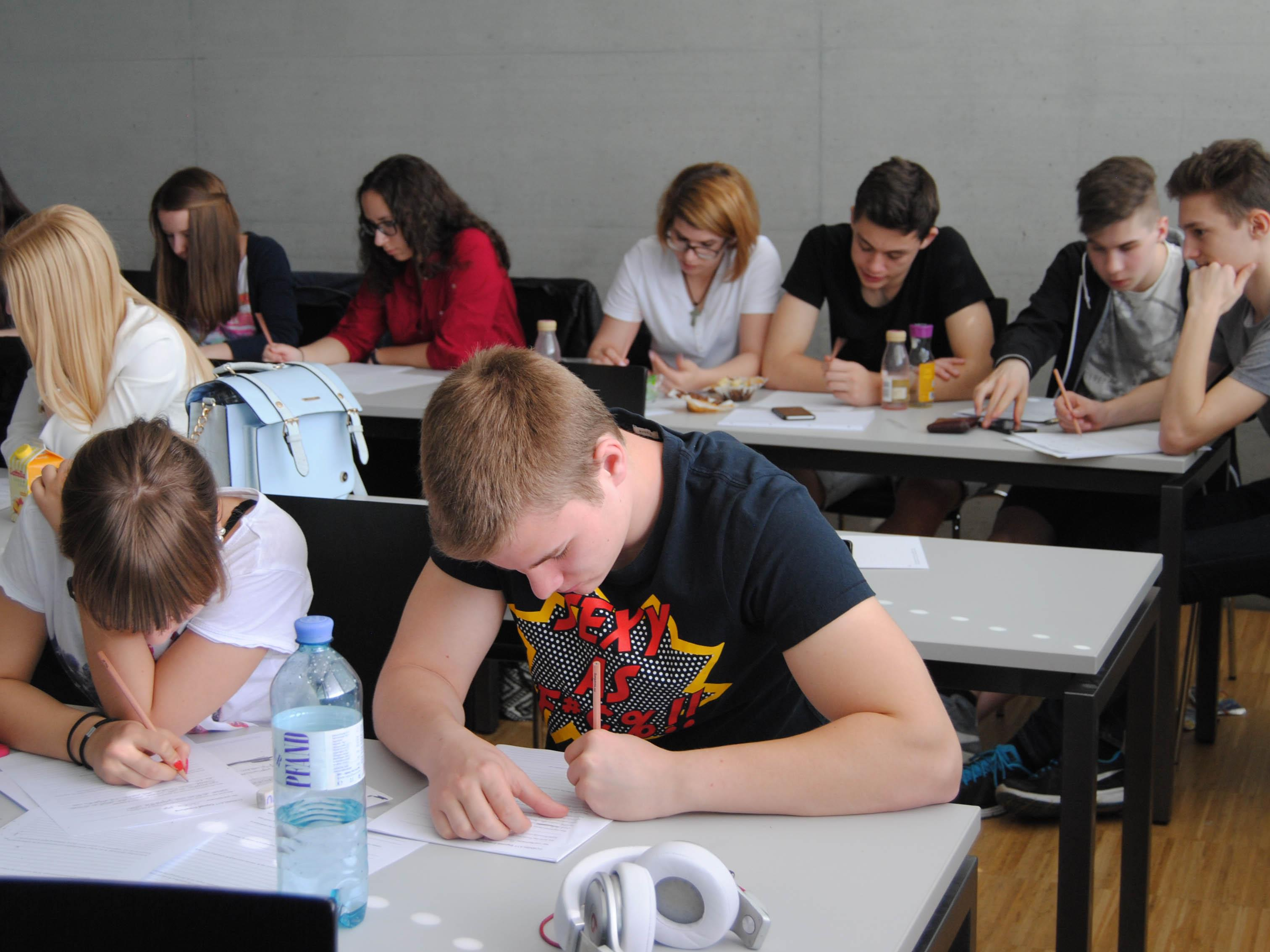 993 SchülerInnen aus 14 AHS aus ganz Vorarlberg haben an diesem Workshop teilgenommen.
