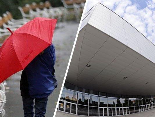 Leider wird man als Song Contest-Besucher in Wien kaum auf den Regenschirm verzichten können