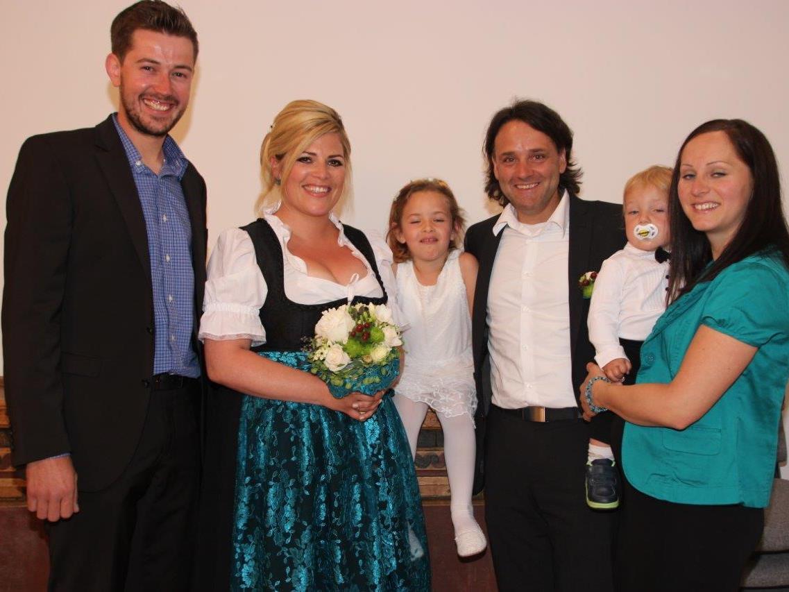 Tanja Müller und Bürgermeister Thomas Zudrell haben am 15.5. geheiratet