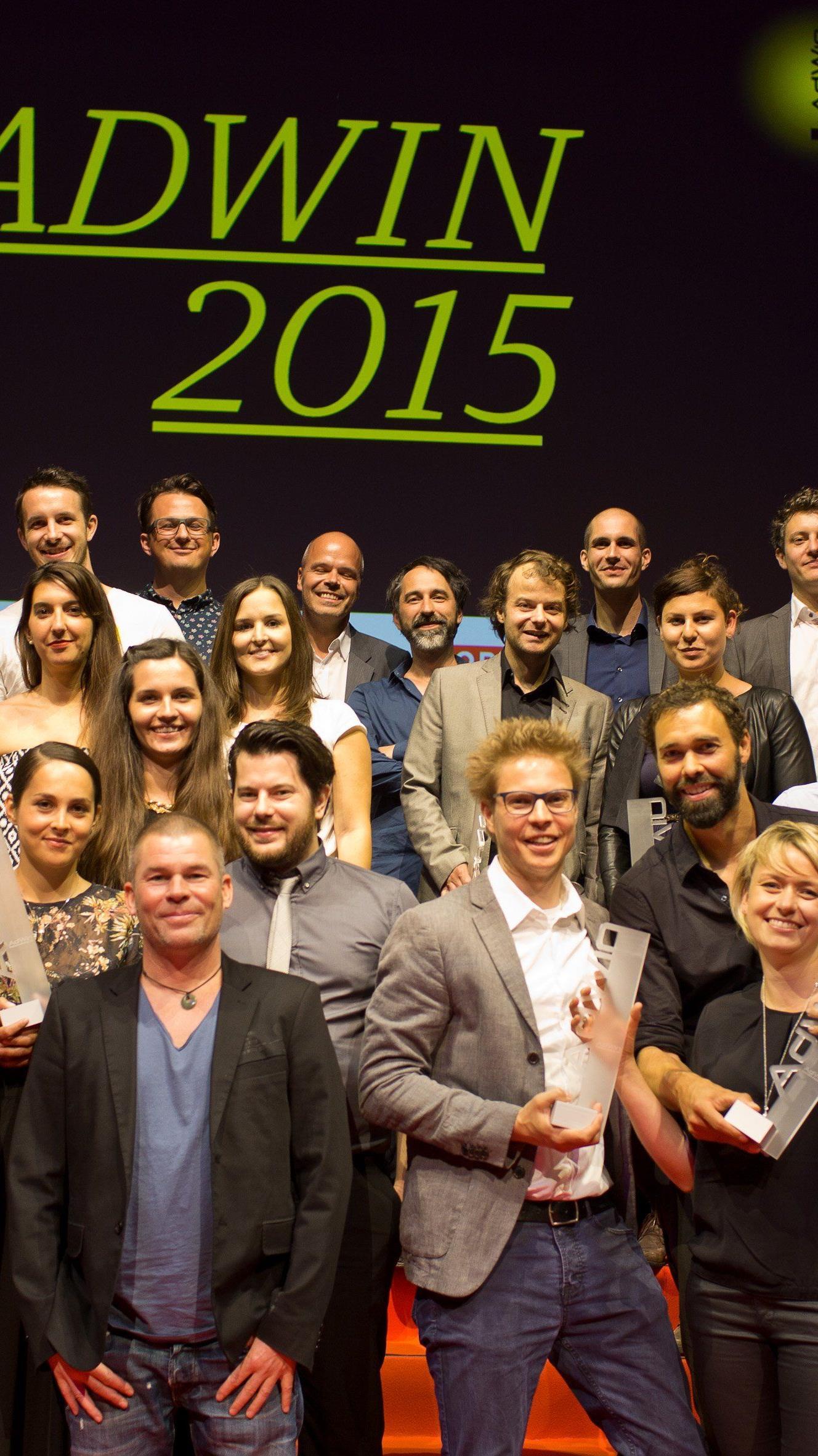 Das sind die Gewinner des AdWin 2015.