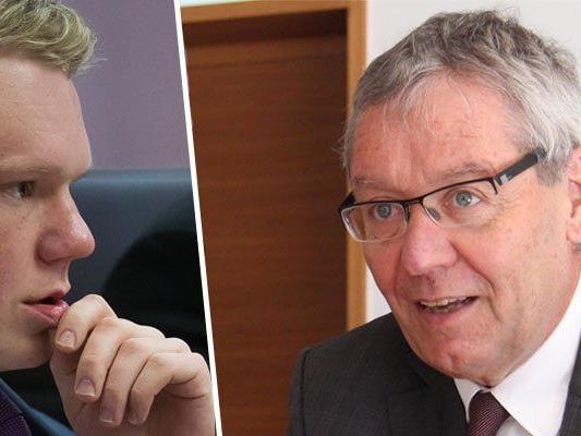 Christof Bitschi fragte Landesstatthalter Rüdisser, wie er zum Blum Bonus steht