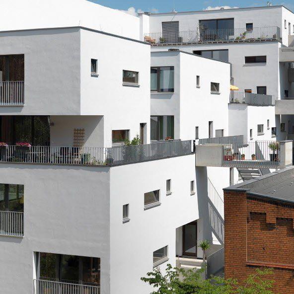 Das Gesundheits-, Bildungs- und Familienzentrum Haus C13 im Berliner Stadtteil Prenzlauer Berg gilt als eines der höchsten Holzhäuser Deutschlands.