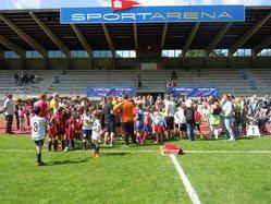 Begeisterung beim Jugend-Fußballturnier