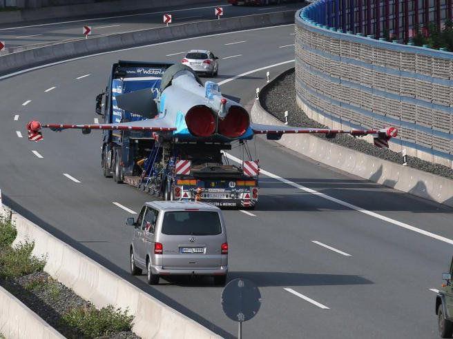 Eurofighter wurde zur Reparatur gefahren