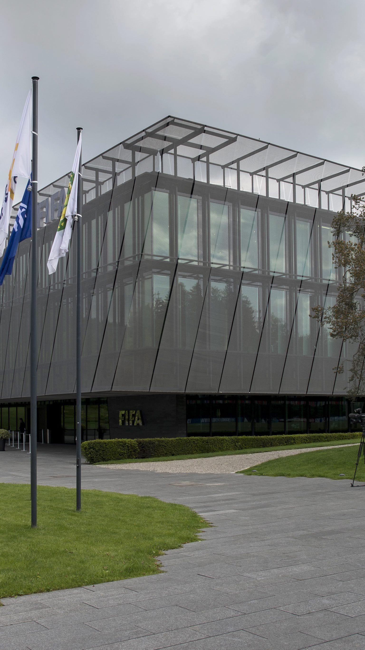 Razzia im Hauptquartier der FIFA.