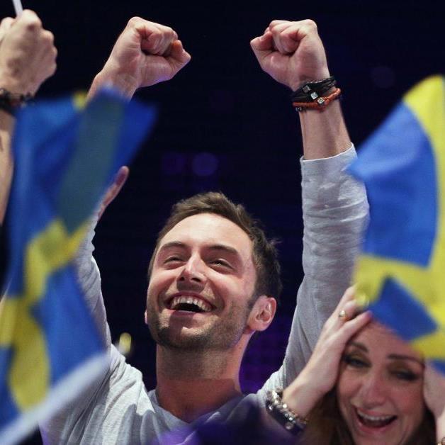 So sieht ein Sieger aus: Måns Zelmerlöw aus Schweden gewinnt den 60. Song Contest.
