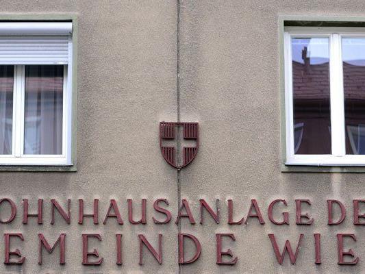 In Wien werden neue Gemeindebauten errichtet.