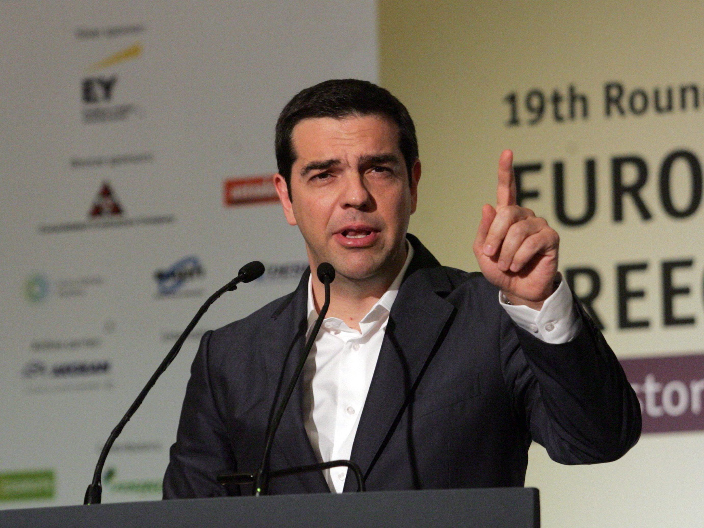 Griechenland droht mit einem Zahlungsstopp.