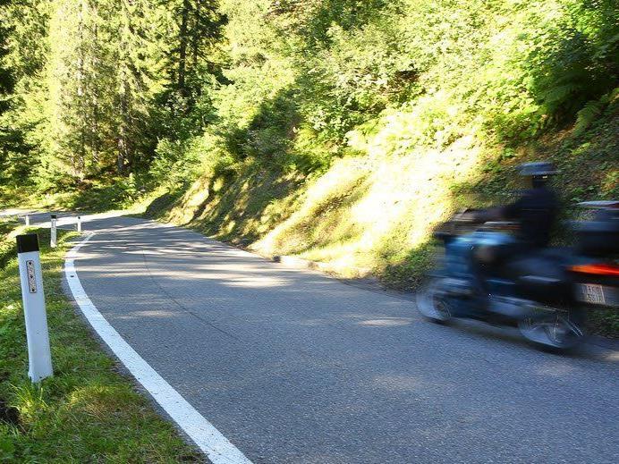 Straße wieder frei befahrbar