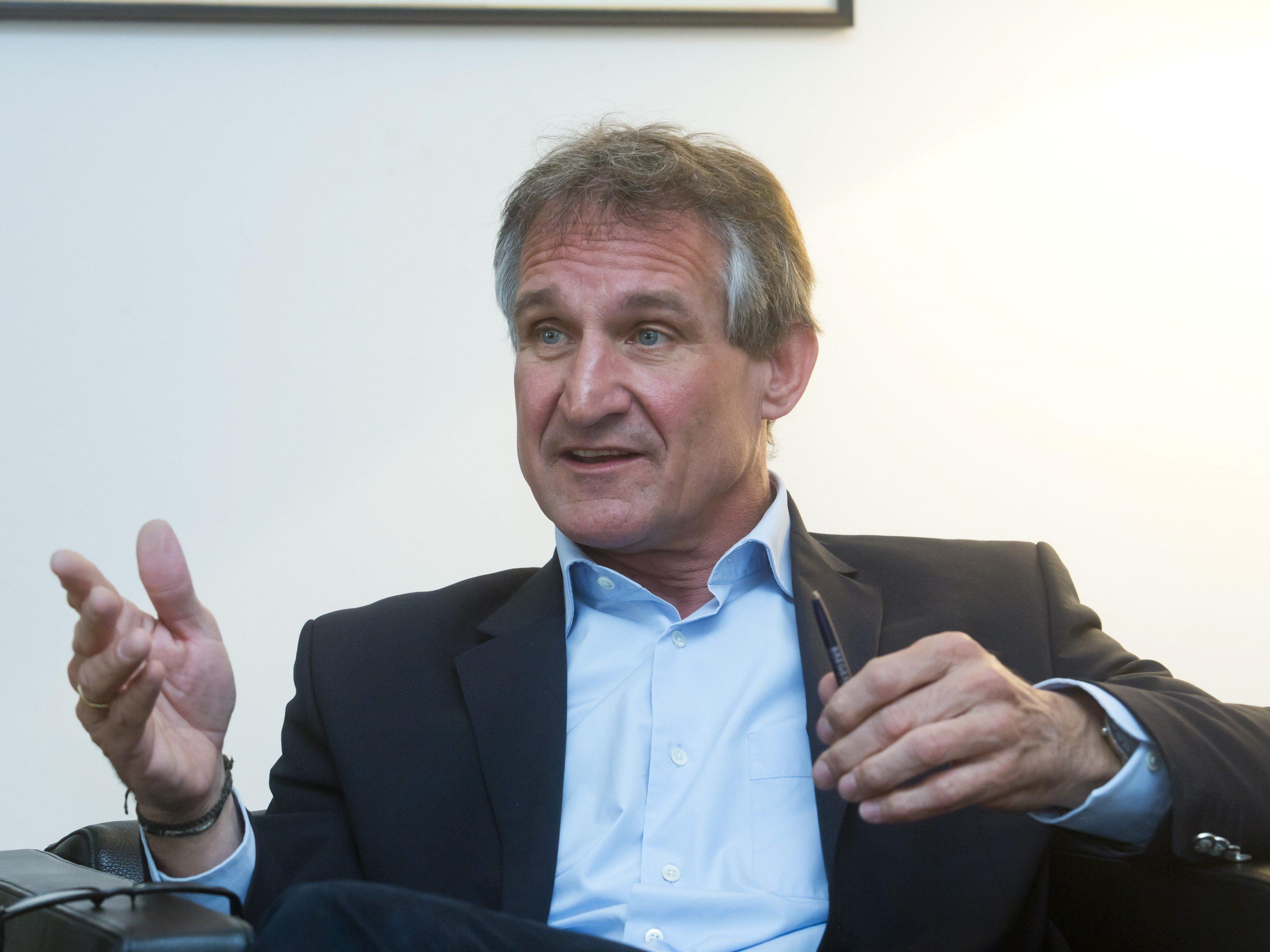Markus Linhart überlegt die Bewerbung von Bregenz als Kulturhauptstadt.