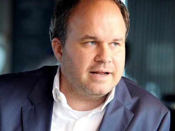 Gerold Riedmann, VN-Chefredakteur und Russmedia-Geschäftsführer.