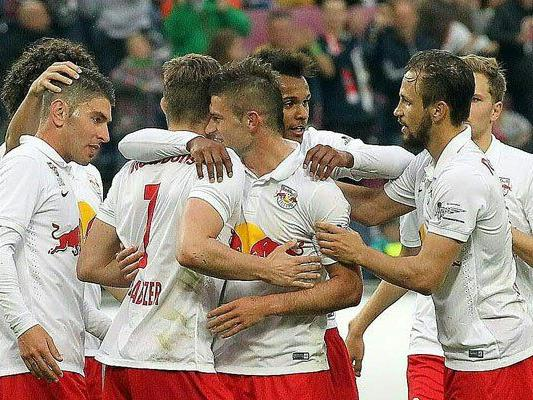 Salzburg könnte bereits am Samstag Meister werden.
