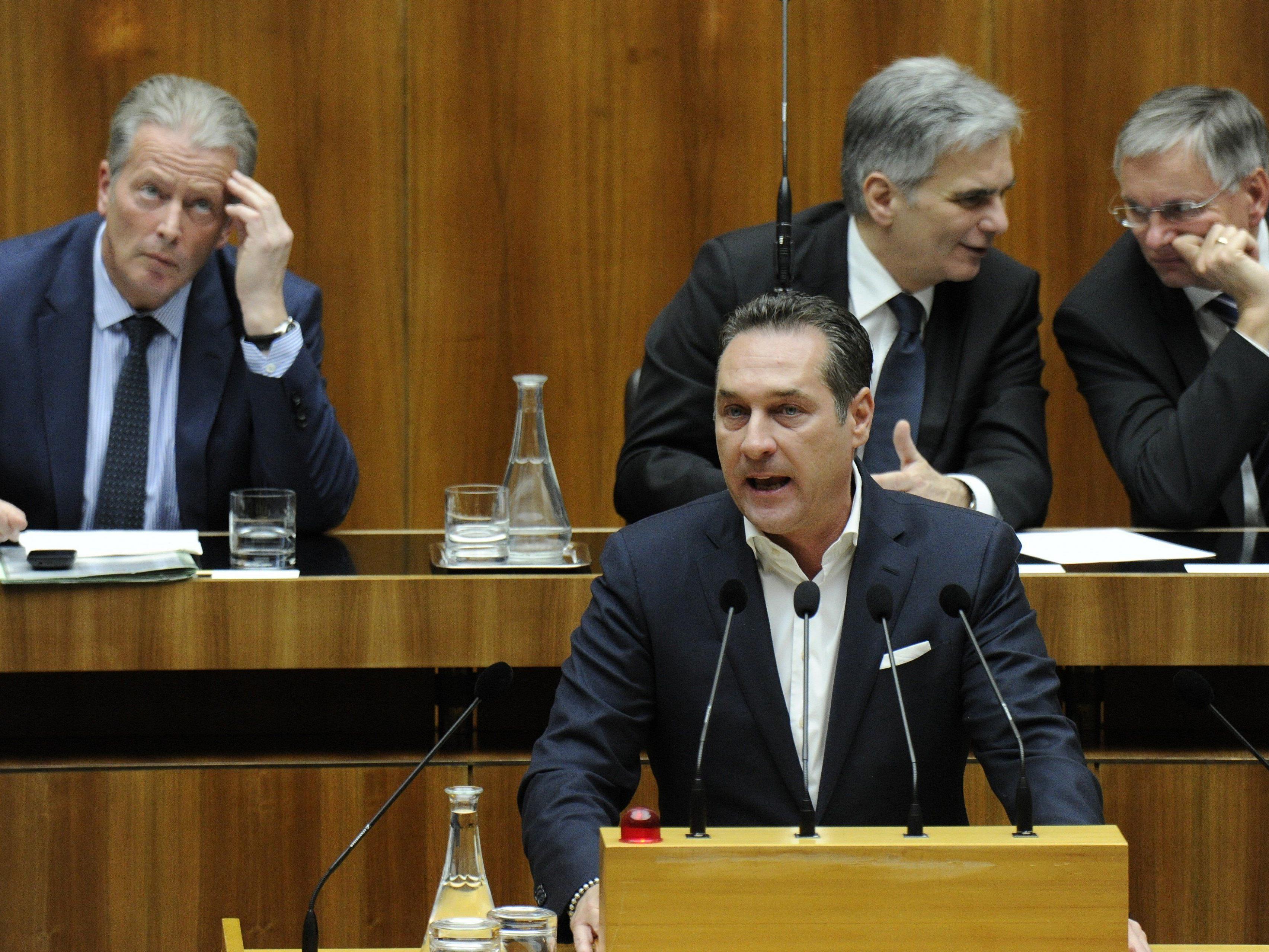 Strache will Auskunft.