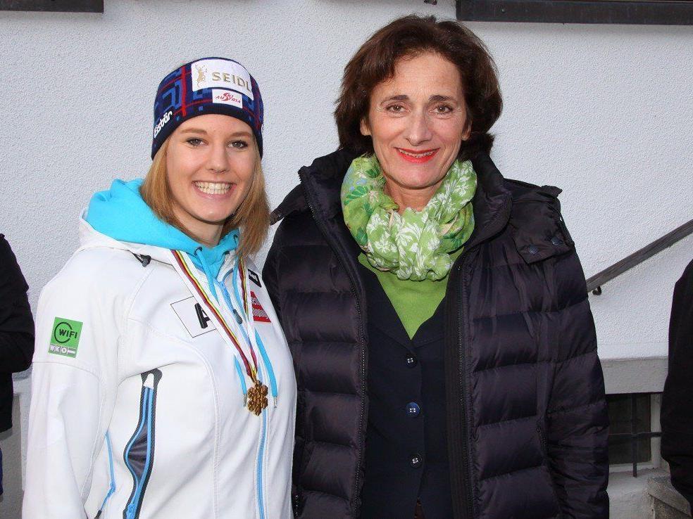Weltmeisterin Lisl Kappaurer ist im ÖSV B-Kader