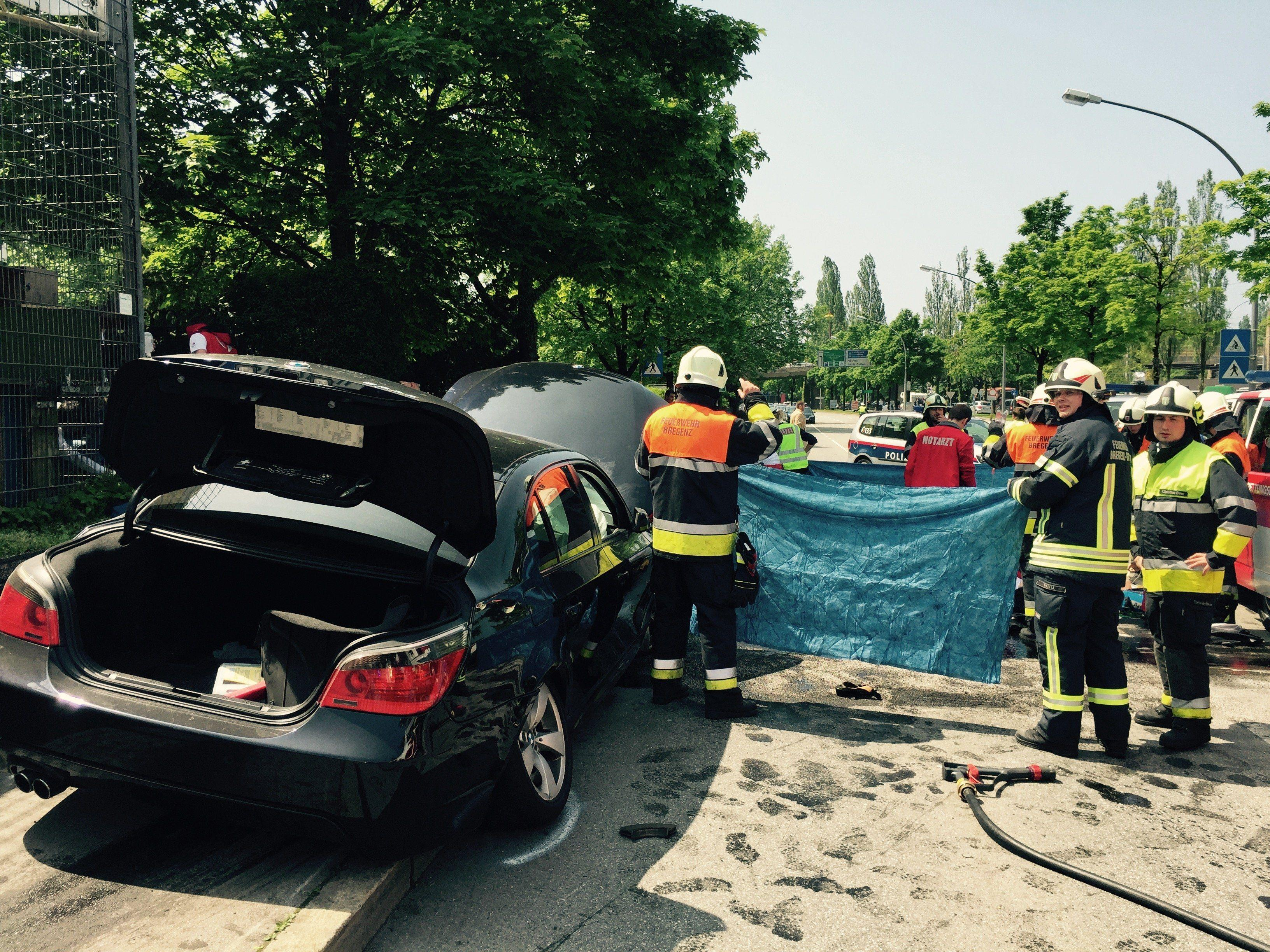 Pkw-Lenker schlitterte über die Fahrbahn